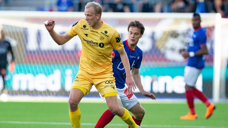 FERDIG I NORD: Vegard Leikvoll Moberg forlater Bodø/Glimt etter denne sesongen.