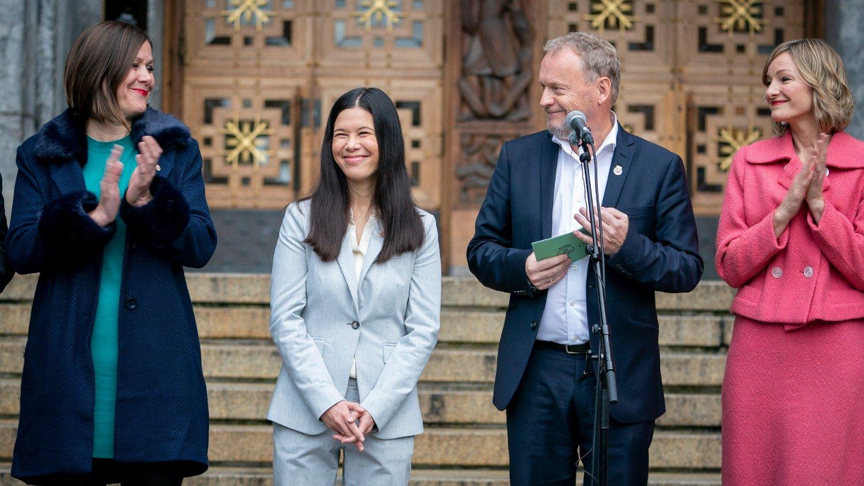 Oslo 20191023. Hanna Marcussen byråd for oppvekst og kunnskap.