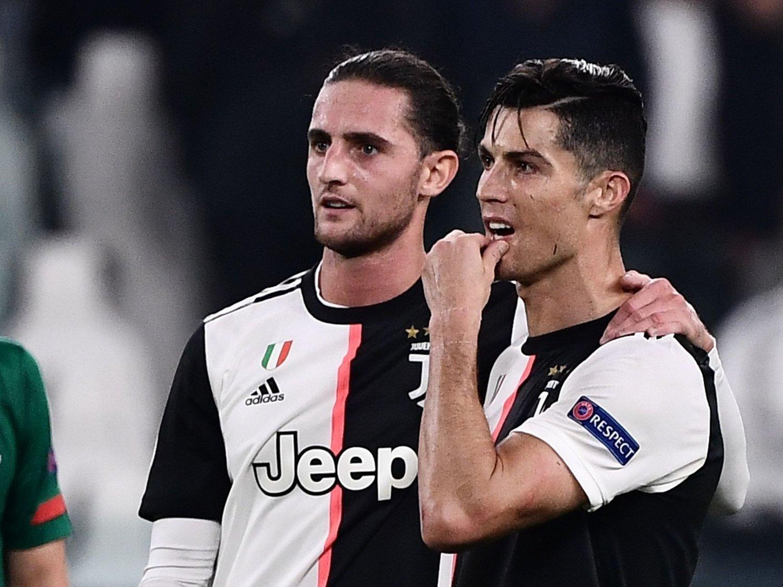 TIDLIG AVSKJED? Adrien Rabiot kan allerede være på vei bort fra Juventus og lagkompis Cristiano Ronaldo.