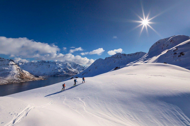 POPULÆRT: Nå vil nordmenn heller til Lofoten enn Maldivene.