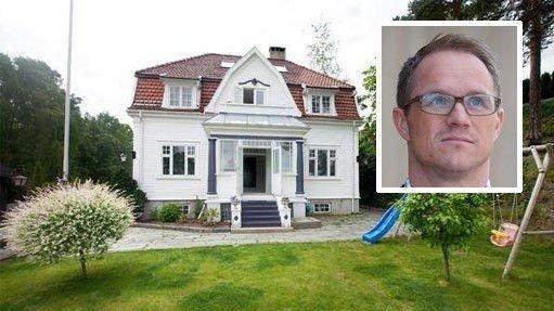 GIGANTGJELD: Går boligen til meglergründer Geir Ole Reiakvam for prisantydningen på 24 millioner kroner, så får han nullet ut kravene fra kreditorene.