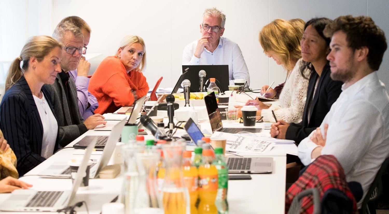 Oslo 20190925. Leder av Pressens faglige utvalg Alf Bjarne Johnsen behandler flere saker i Oslo onsdag.