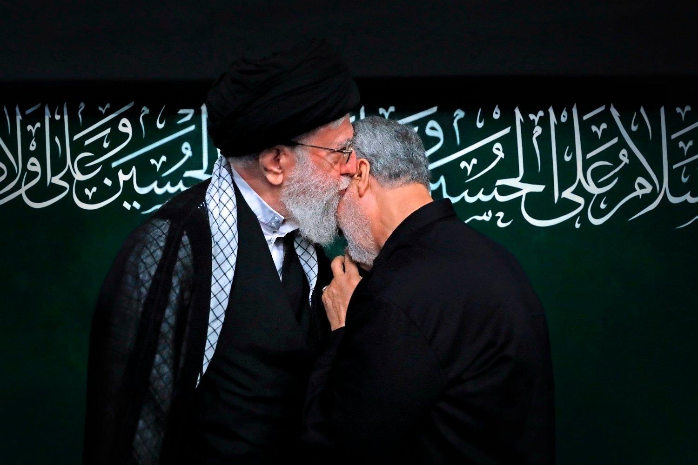 Samme dag som USA likviderte Qasem Soleimani , forsøkte angivelig amerikanske styrker å drepe en annen høytstående leder i Revolusjonsgarden.