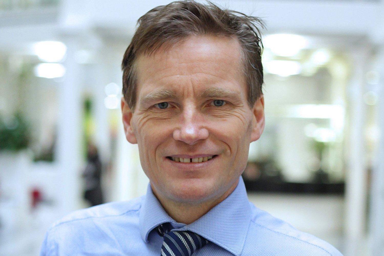 Robert Næss i Nordea mener risikoen i det norske aksjemarkedet har økt.