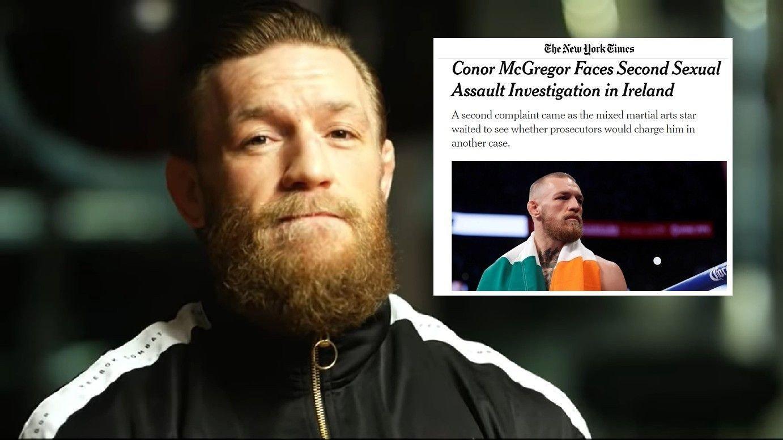 SVARER: Conor McGregor benekter anklagene om seskuelt overgrep.