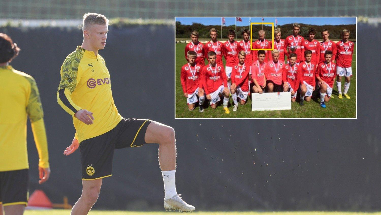 VINNERMENTALITET: Erling Braut Haaland kan få sin Bundesliga-debut lørdag.
