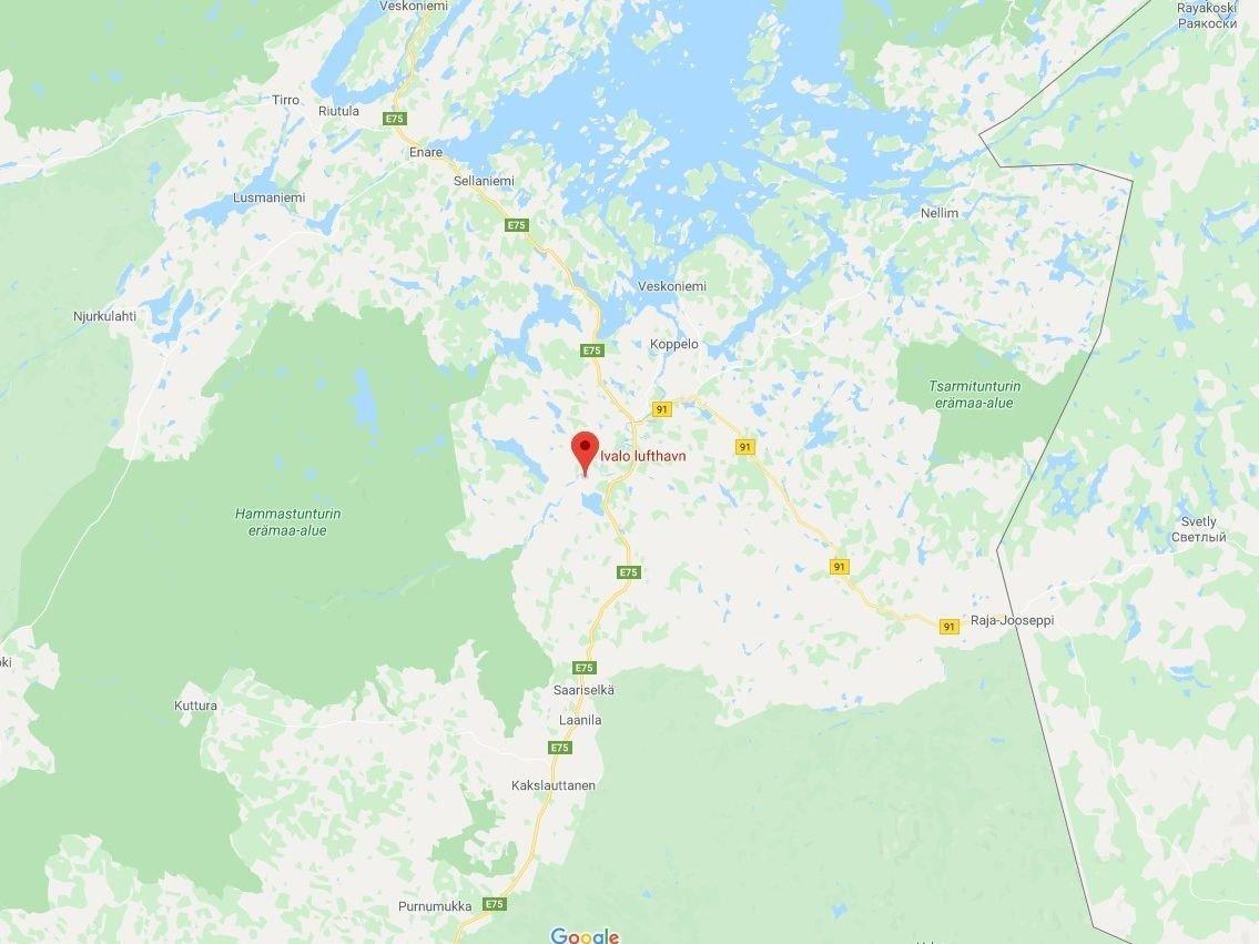 Kineserne var på ferie i Lappland og hadde også vært innom Norge da de ble undersøkt for influensalignende symptomer i Ivalo nord i Finland.
