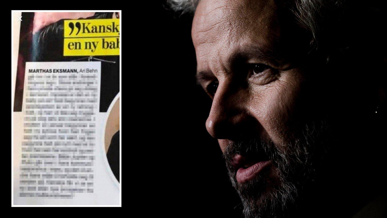 I Her og Nås første utgave i januar 2020 hadde ukebladet trykket et horoskop for 2020 hvor Ari Behn var omtalt, både på forsiden og inne i bladet.