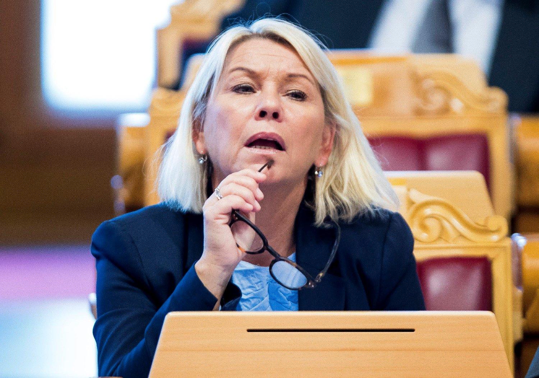 NY INKASSOLOV: Den ferske justisministeren Monica Mæland (H) må ta stilling til en ny inkassolov.