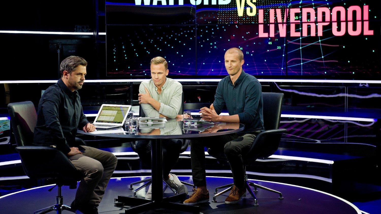 TV 2-GJENGEN: Jan-Henrik Børslid, Simen Stamsø Møller og Brede Hangeland.