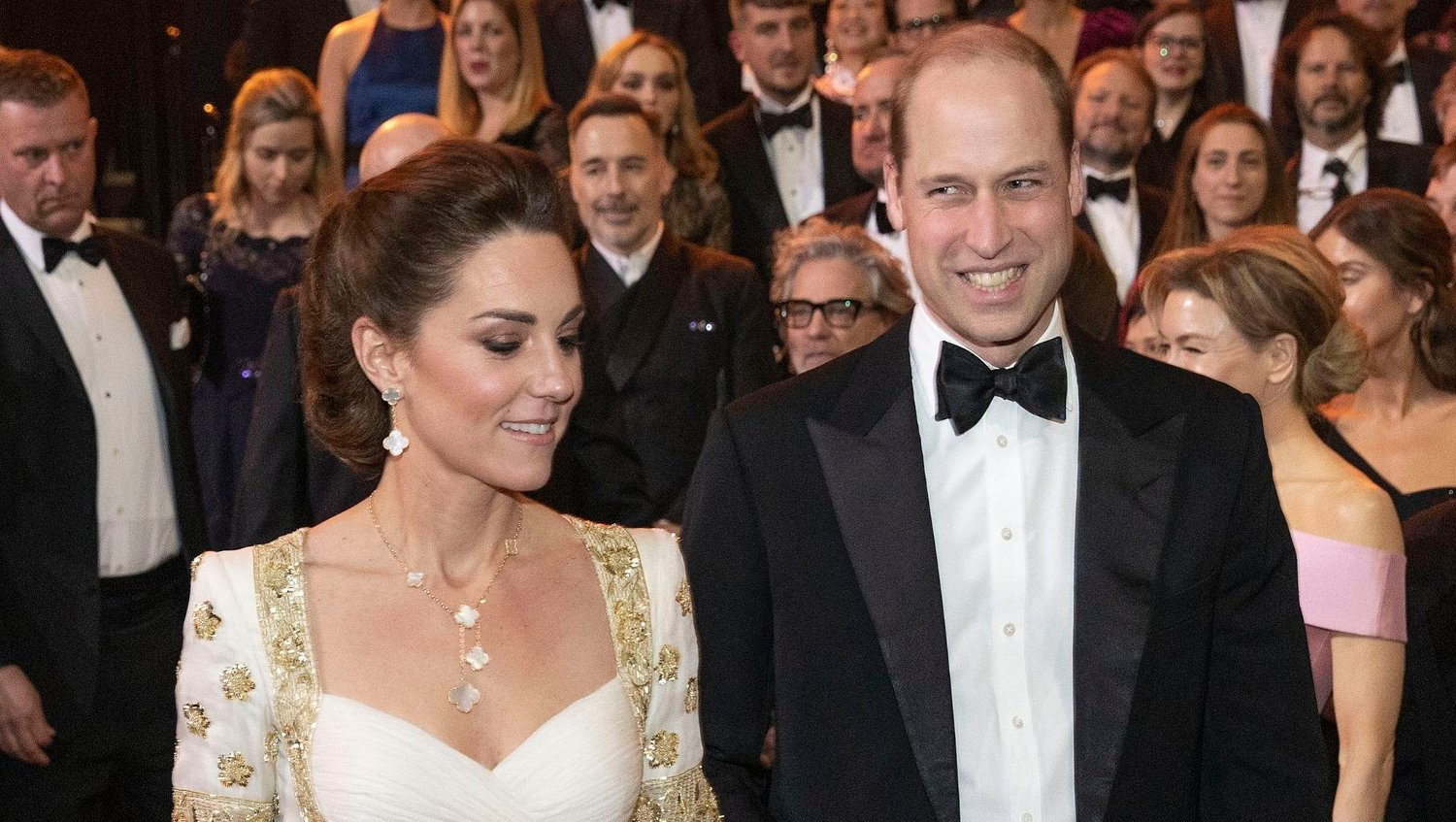 The Duke and Duchess of Cambridge attend the Baftas The Duke and Duchess of Cambridge attend the EE British Academy Film Awards at Royal Albert Hall in London.