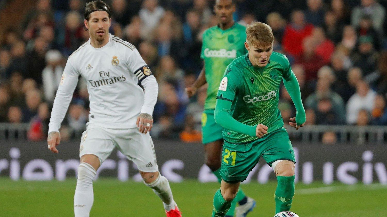 FREMTIDEN I EGNE HENDER: Men hvor spiller Martin Ødegaard fotball neste sesong?