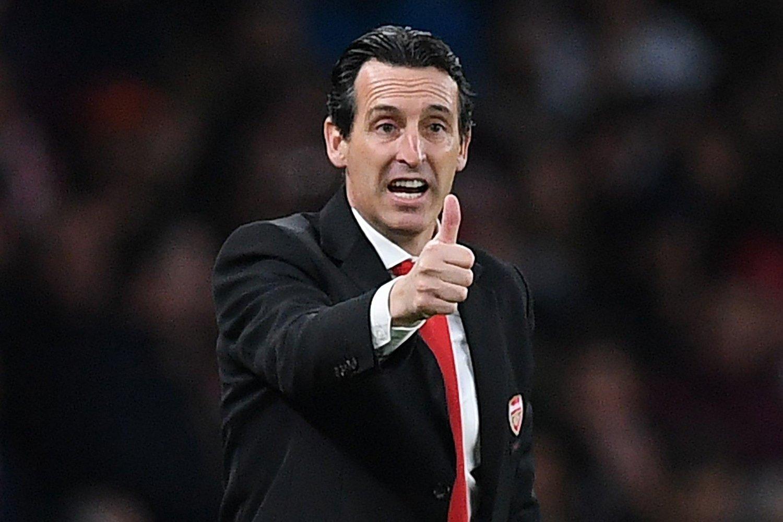 SKYLDER PÅ STJERNENE: Tidligere Arsenal-manager Unai Emery.