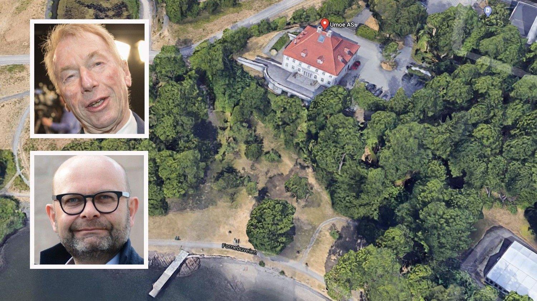 Jens Ulltveit-Moes Umoe AS har hatt tilhold på Fornebu Hovedgård siden 2004. Nå har de solgt til eiendomsselskapet til Terje Tinholt.