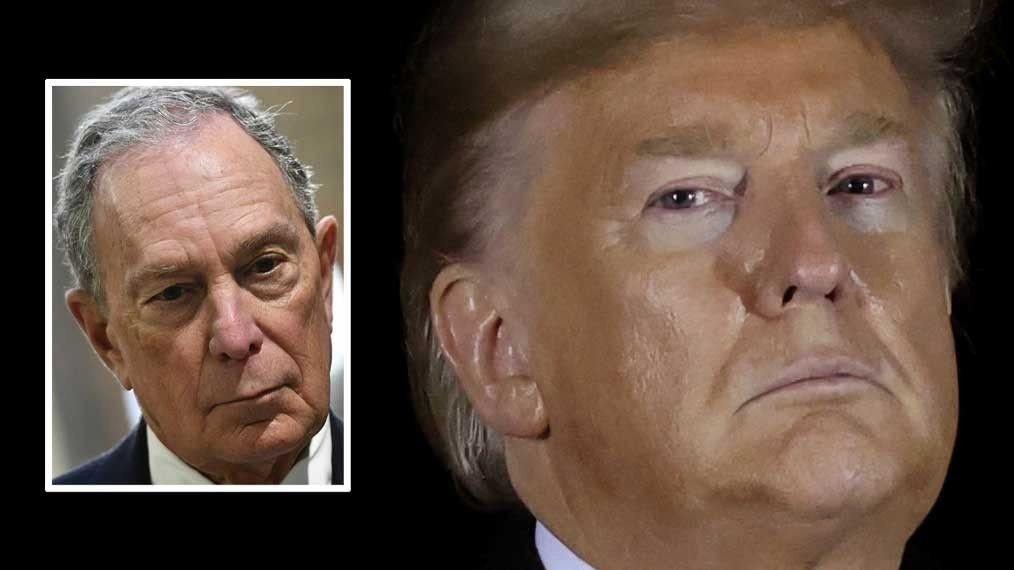 ENESTE HÅP: Gamblerne har veddet på at Michael Bloomberg er den eneste presidentkandidaten som kan slå Donald Trump.