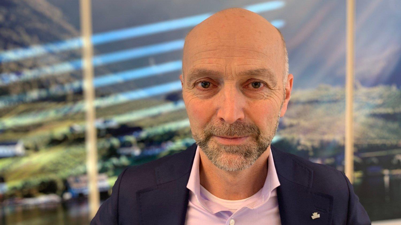 TØFT ÅR: - Nedgangen i salget av søtmelk og et svakt iskremsalg er hovedårsakene til svake resultater i 2019, medgir konsernsjef Gunnar Hovland i Tine.