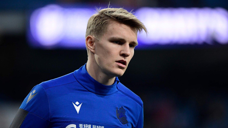 KAN BLI VIKTIG: Martin Ødegaards 2-1-scoring i den spanske cupen kan bli særs viktig for Real Sociedad.