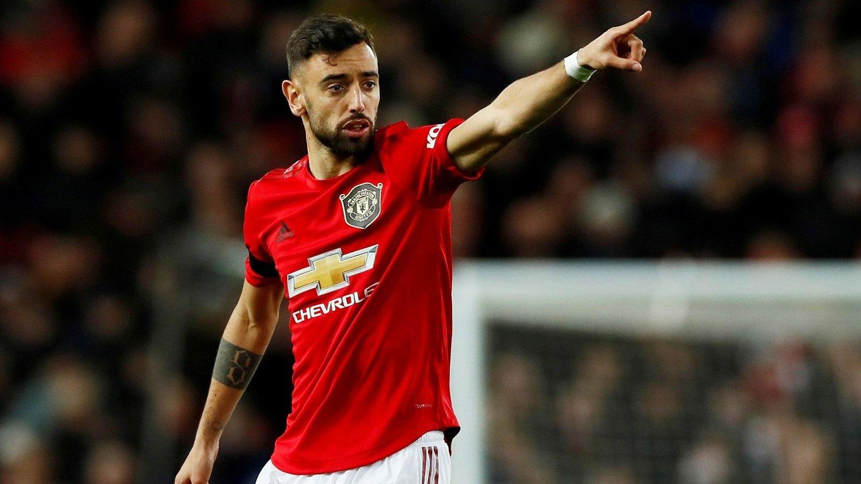 DYR MANN: Bruno Fernandes signerte til slutt for Manchester United.