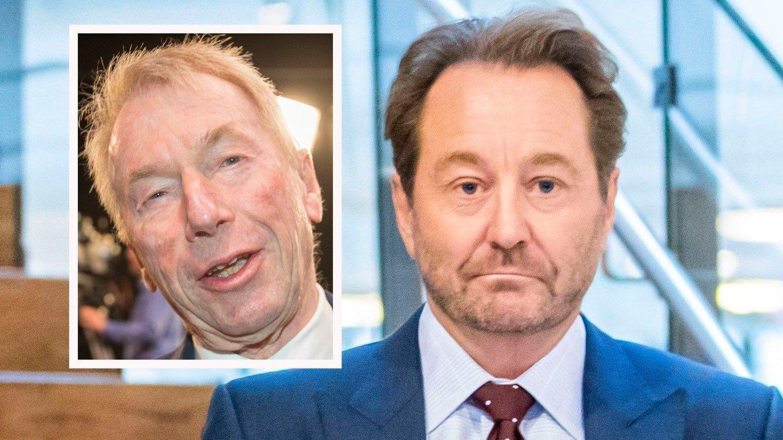 VINNER OG TAPER: Kjell Inge Røkke bør være gladere enn på dette bildet, han har en firedobling av verdiene i REC Silicon etter at han kjøpte seg inn for to måneder siden. For Jens Ulltveit-Moe utviklet REC seg til et mareritt.