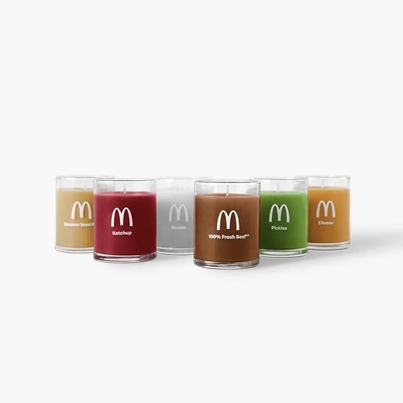 DUFTLYS: Brød, ketchup, løk, biffkjøtt, sylteagurk og ost, er luktene McDonald's ønsker å bringe hjem til deg.