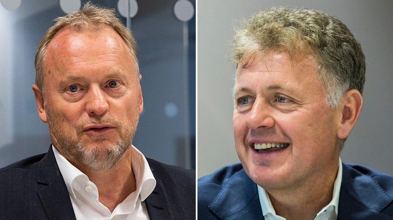 Raymond Johansen og Gunnar Stavrum