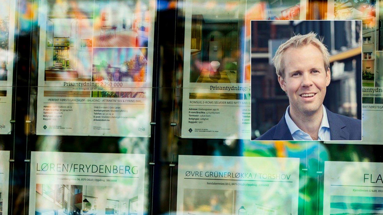 NY OPTIMISME: NBBLs boligbarometer viser at langt flere nå enn før jul tror på økte boligpriser. Særlig gjelder i Oslo, og sjeføkonom Christian Bjerknes i NBBL er betenkt: - En ny høy prisvekst er meget uheldig, sier han.