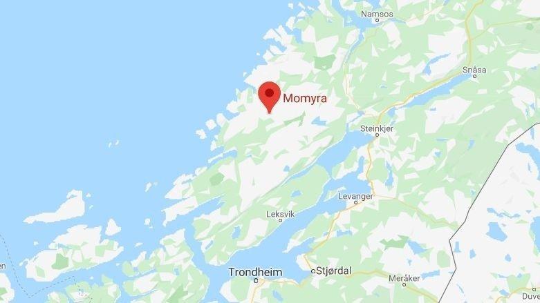 FRONTULYKKE: Ulykken skal ha skjedd ved Momyr i Åfjord.