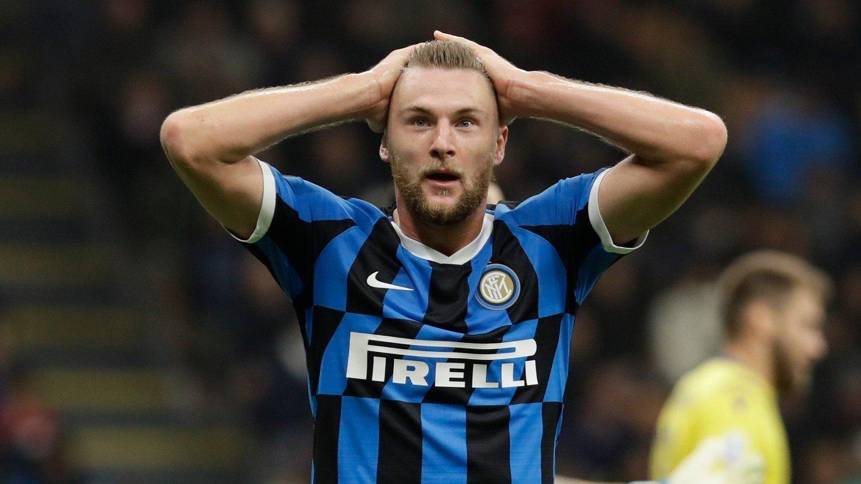 TIL CITY?: Inter-stopper Milan Skriniar har storspilt for laget fra Milano denne sesongen.