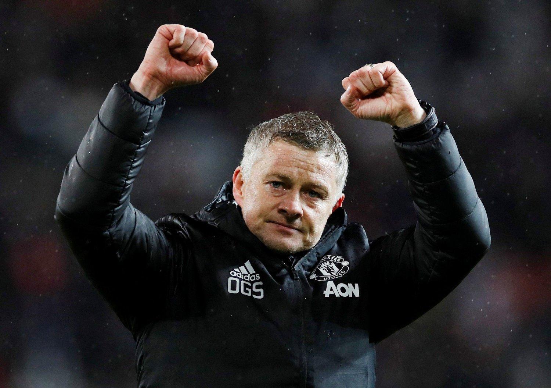 FIKK BESØK: Ole Gunnar Solskjær og Manchester United skal ha hatt besøk av et av Englands største talenter.