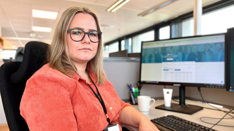 KLAR: Skagenfondenes Eline Hille ser på det som en plikt å vende tilbake til sykehuset dersom hun kalles inn.