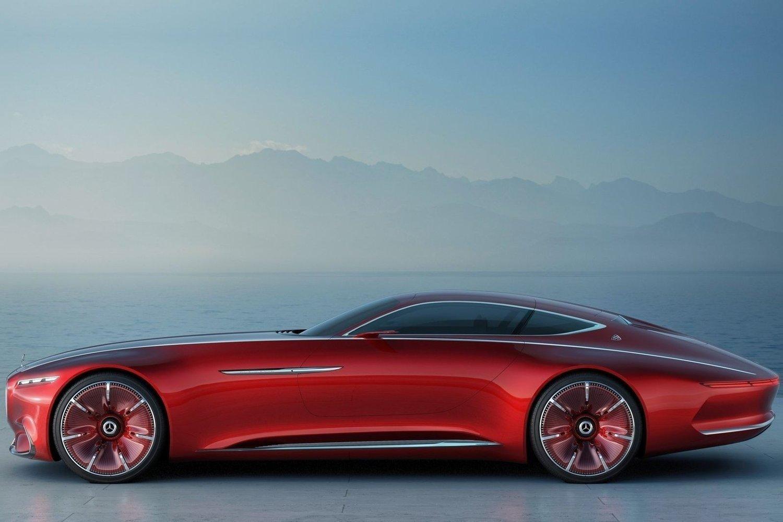 Den er nesten seks meter lang og oser av sporty eleganse. Mercedes slår virkelig på stortromma med sin nye konseptbil.