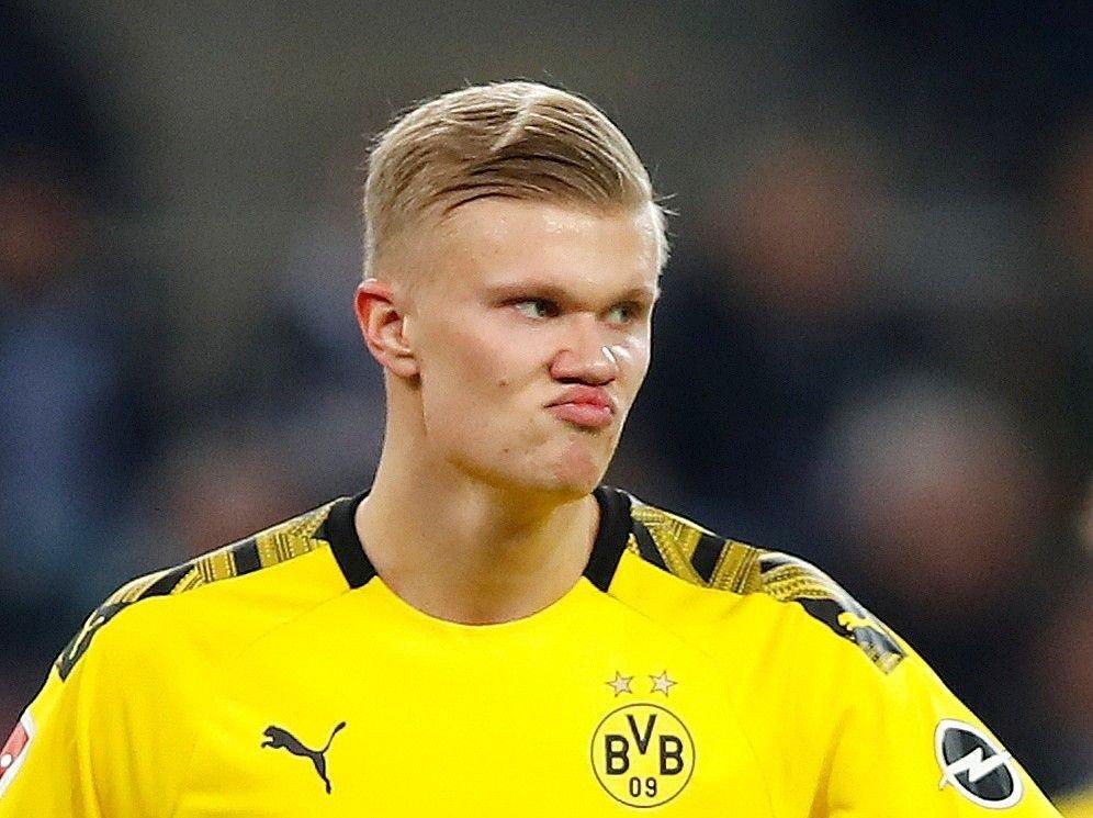 FÅR SKRYT: Agent Mino Raiola er svært imponert over hvordan Erling Braut Haaland har taklet overgangen til tysk fotball.