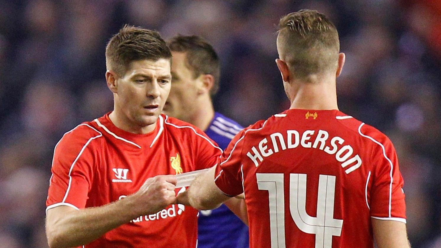 ARVTAKER: Jordan Henderson tok over kapteinsbindet i Liverpool da Steven Gerrard forlot klubben.