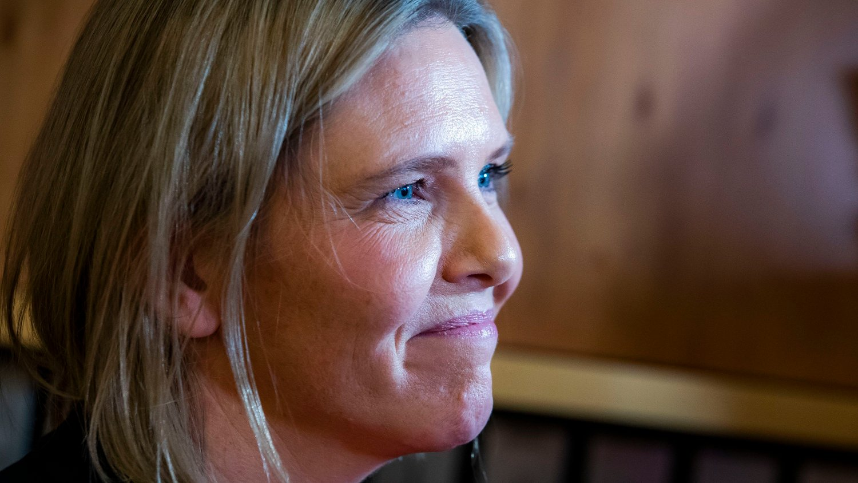 Oslo 20191218. Sylvi Listhaug . Onsdag overtar hun kontorene i olje- og energidepartementet i Oslo.