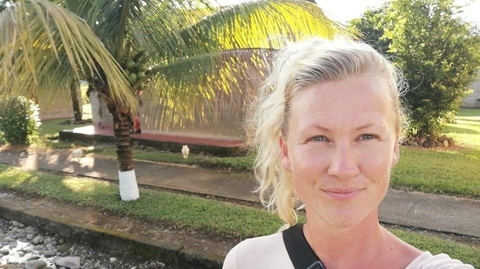 I PERU: Tessa Jorfald sitter fortsatt fast i Peru.