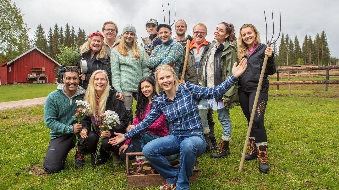 «Farmen Kjendis»-deltakerne 2019.