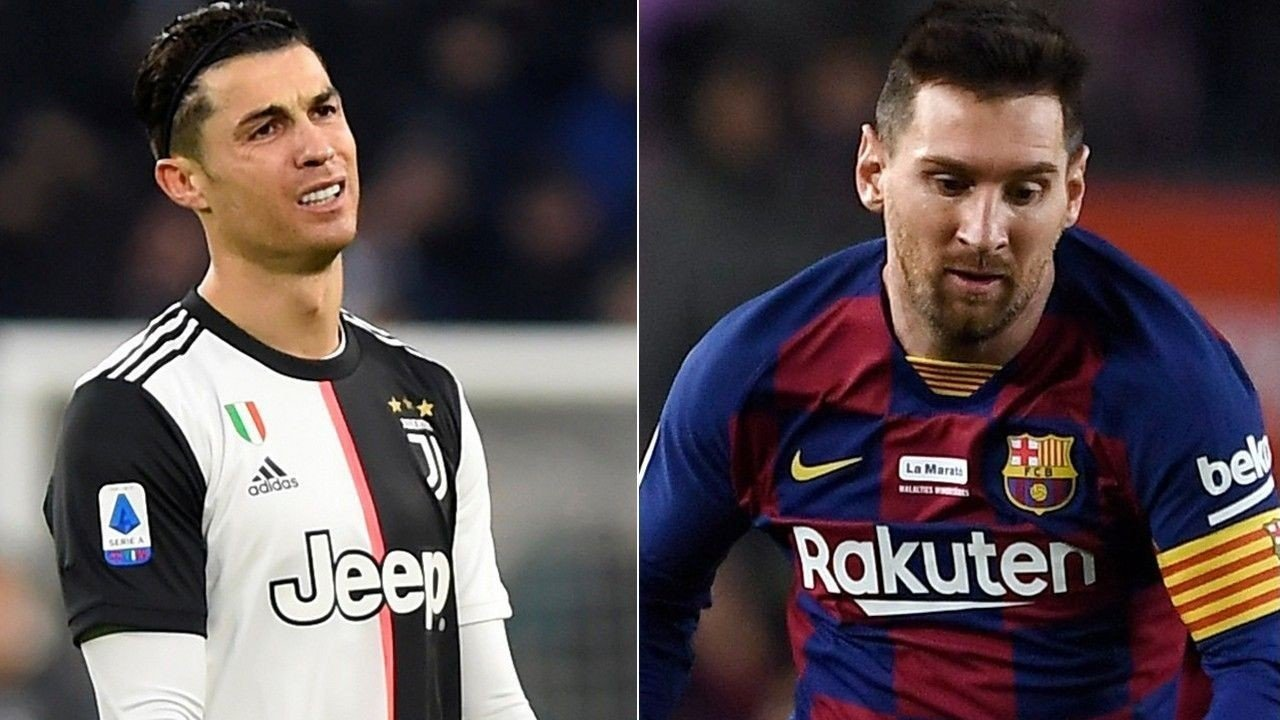 HVEM?: Cristiano Ronaldo og Lionel Messi har fulgt hverandre som skygger i årevis.