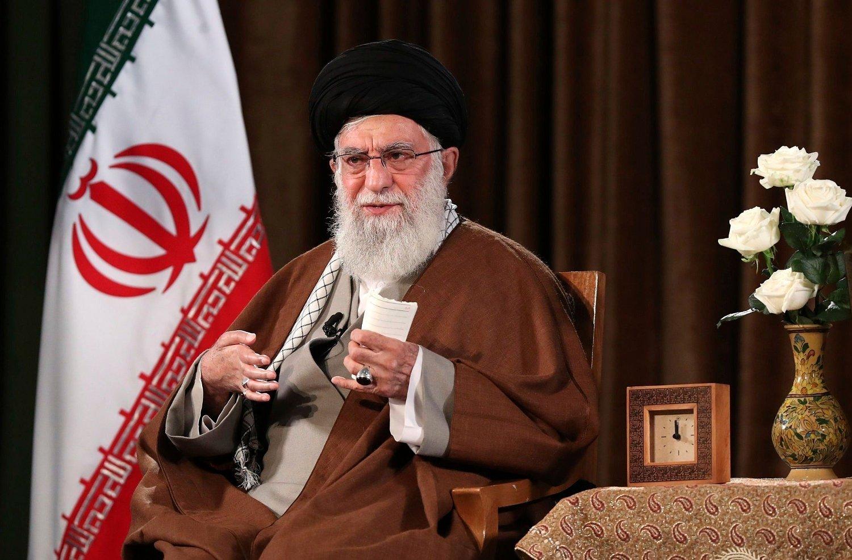 Irans øverste leder Ali Khamenei.