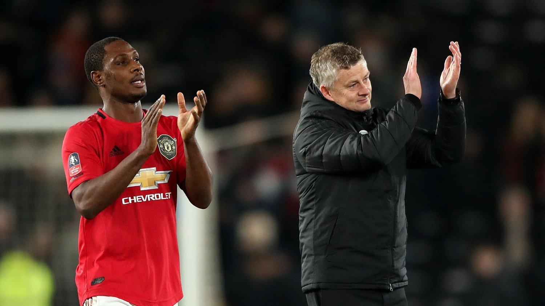 MÅLSCORER: Odion Ighalo har imponert i Manchester United under Ole Gunnar Solskjærs ledelse.
