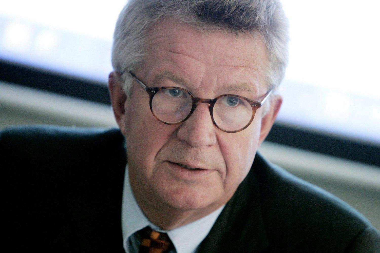 Arkivfoto fra 2007 av den tidligere svenske statsepidemiologen Johan Giesecke