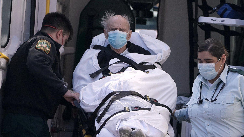 SLÅR ALARM: New Yorks ambulansetjeneste slår full alarm.