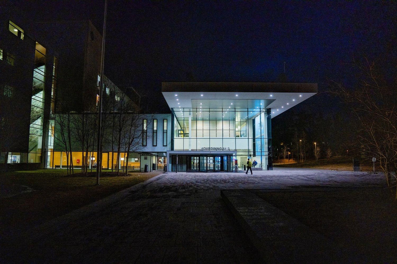 MÅ TRAPPE OPP: Ahus har sitt hovedbygg og de fleste av sine avdelinger på Nordbyhagen på Lørenskog. Opptaksområdet dekker 11 prosent av befolkningen, og nå må sykehuset trappe opp sin kapasitet for intensivsenger og respiratorbehandling.