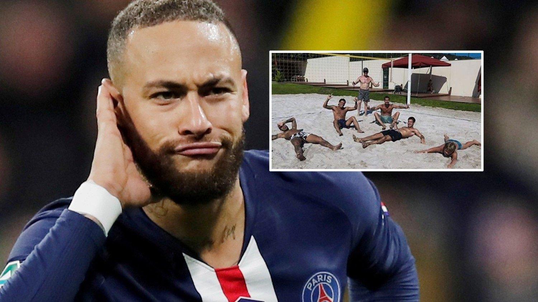 SKAPTE HARME: Dette bildet som Neymar la ut på Instagram fikk flere til å stusse. Nå har stjernen kommet med en forklaring.