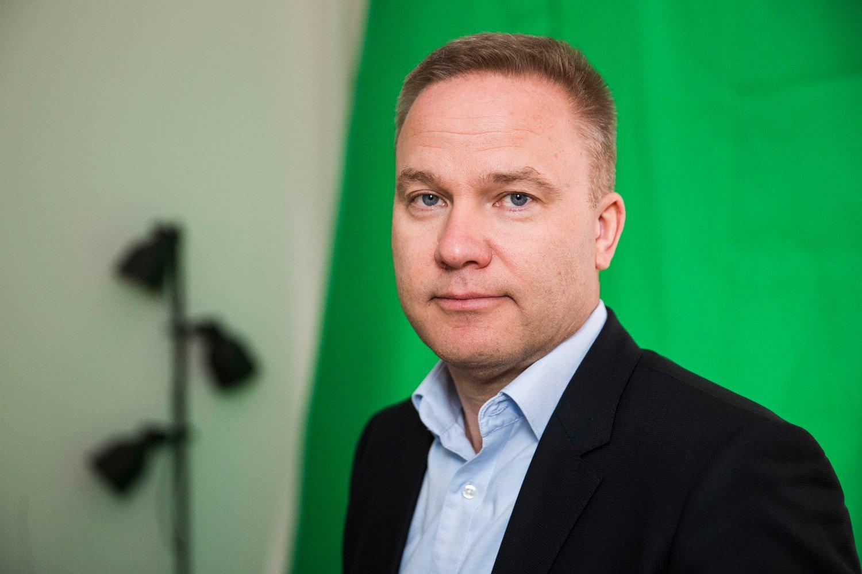 Oslo 20180302. Helge Lurås er redaktør for nettstedet Resett.no.