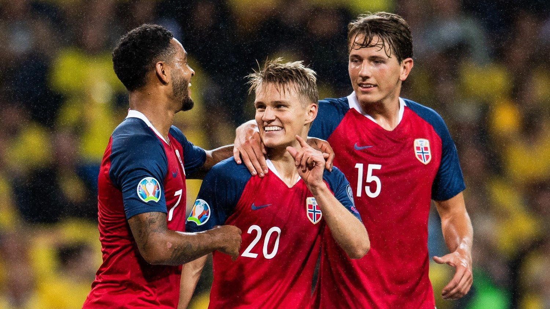UTSATT: Joshua King, Martin Ødegaard og Sander Berge må vente lenge til neste landskamp