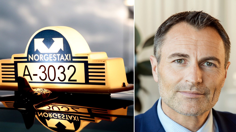 Administrerende direktør Dag Kibsgaard-Petersen i Norgestaxi.