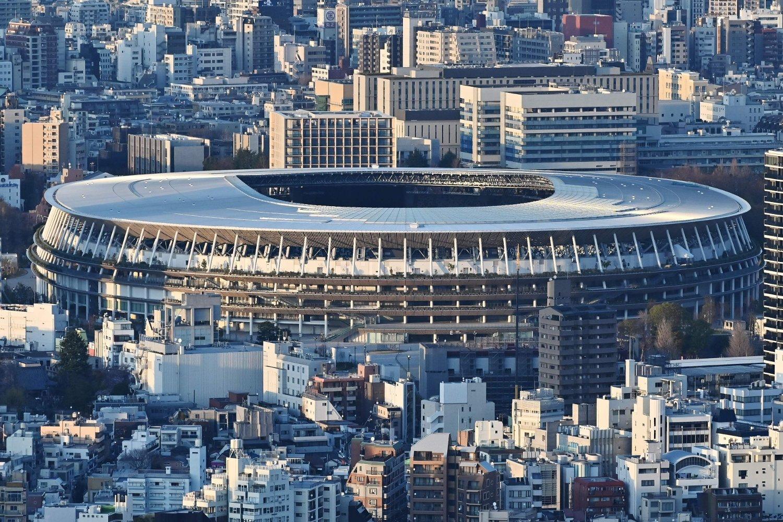 UTSATT: På denne arenaen i Tokyo skal det konkurreres i mange OL-øvelser, men det blir ikke før i 2021.
