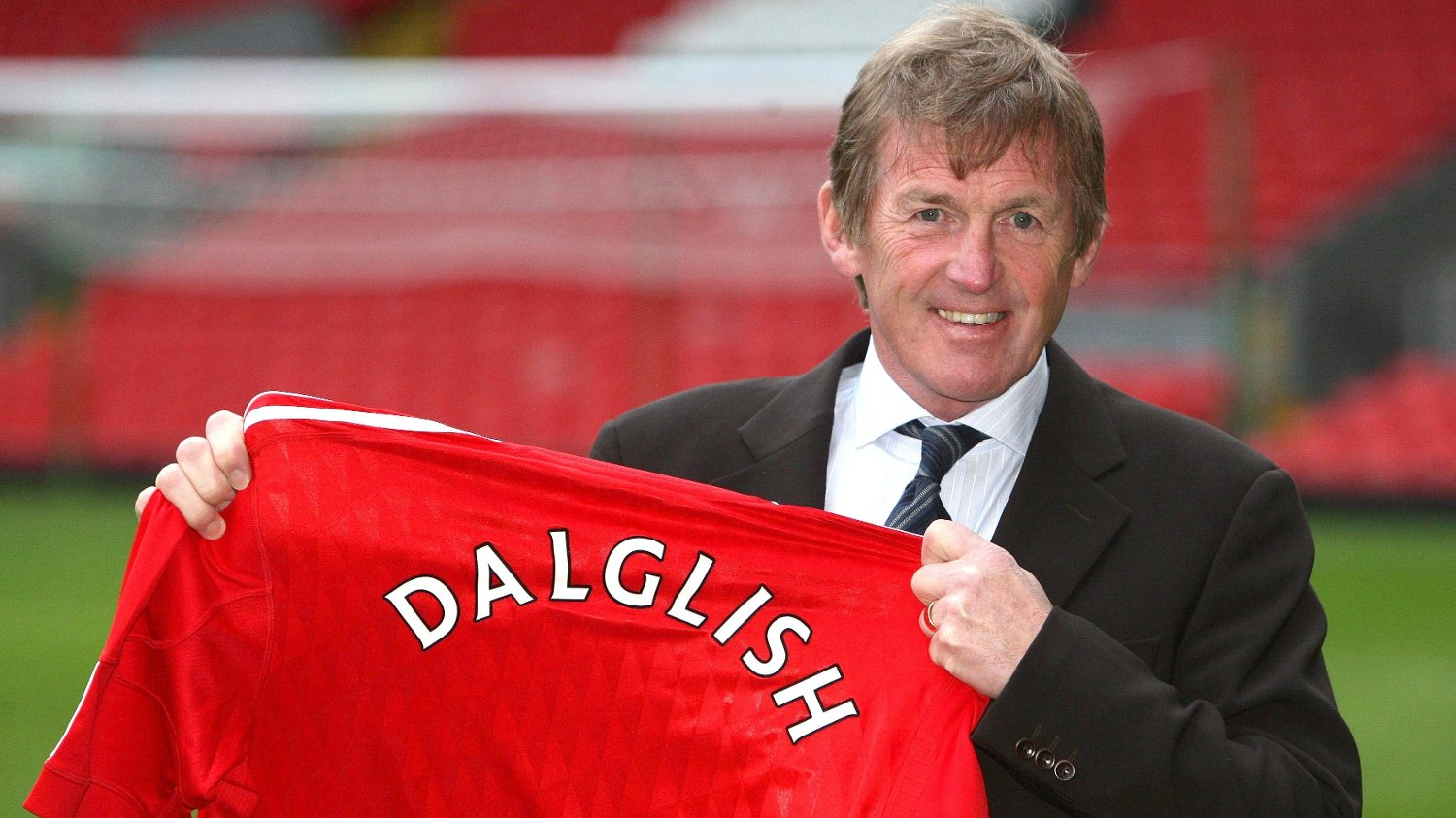 File photo dated 10-01-2011 of Liverpool manager Kenny Dalglish during a media call at Anfield, Liverpool.