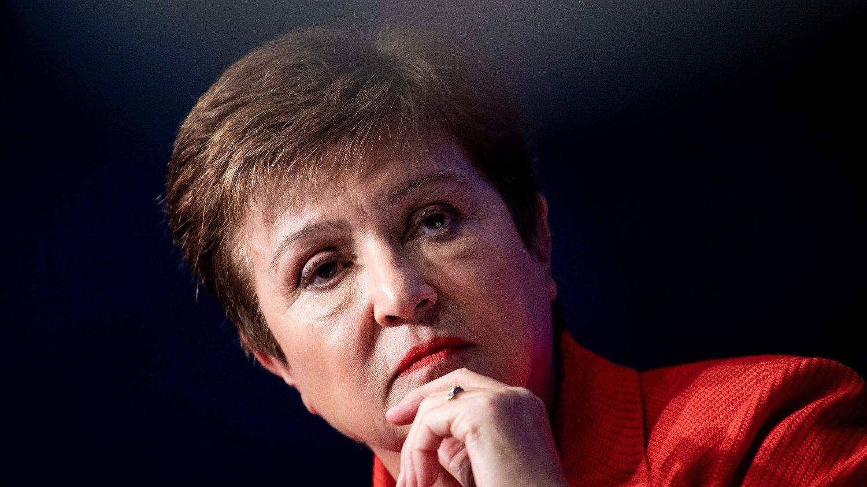 HISTORISK DYP KRISE: – Vi står overfor ekstraordinær usikkerhet når det gjelder hvor dyp og hvor lang krisen blir, sa IMF-direktør Kristalina Georgieva i en tale forrige uke.