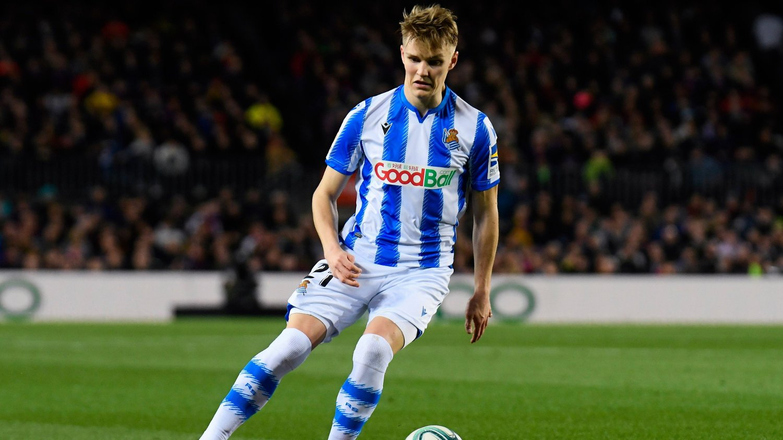 SUPERSTJERNE: Martin Ødegaard anses som den viktigste spilleren i Real Sociedad, ifølge Roberto López Ufarte.